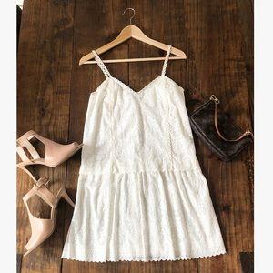 DV Dolce Vita white lace dress